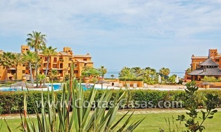 Luxury apartment to buy in a beachfront complex, New Golden Mile, Marbella - Estepona 0
