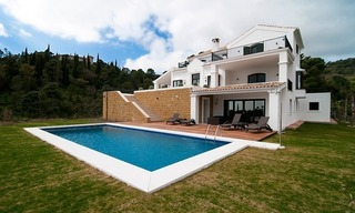 Luxury modern-Andalusian styled new villa to buy, Marbella – Benahavis 1
