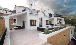 Luxury modern-Andalusian styled new villa to buy, Marbella – Benahavis 2