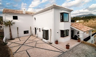Luxury modern-Andalusian styled new villa to buy, Marbella – Benahavis 3
