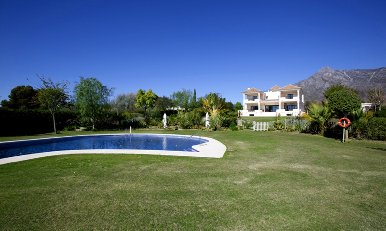 Modern Andalusian mansion for sale on the Golden Mile in Marbella 2