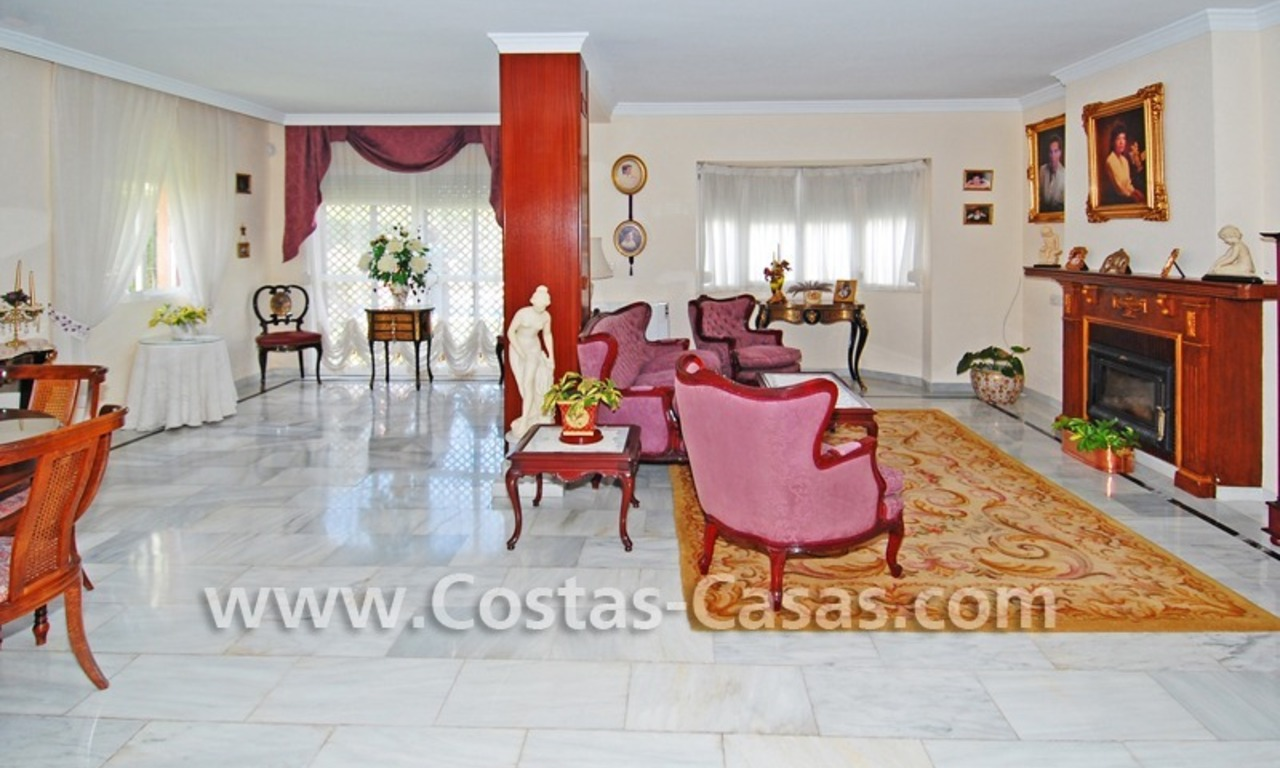 Andalusian styled beachside villa for sale in complex of villas in Marbella west 2