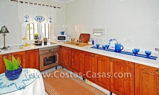Andalusian styled beachside villa for sale in complex of villas in Marbella west 5