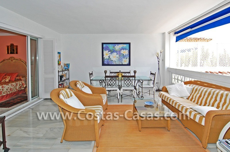 Beachfront luxury apartment for sale in Puerto Banus – Marbella 1