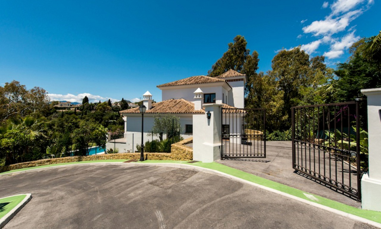 Bargain New luxury villa for sale, Marbella – Benahavis 1