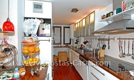 Golf apartment for sale in a gated first line golf complex, Marbella – Benahavis 6