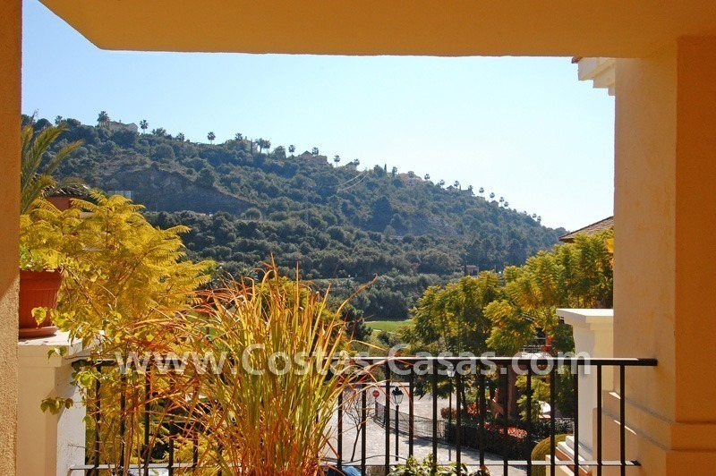 Golf apartment for sale in a gated first line golf complex, Marbella – Benahavis 0