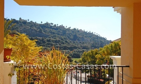Golf apartment for sale in a gated first line golf complex, Marbella – Benahavis