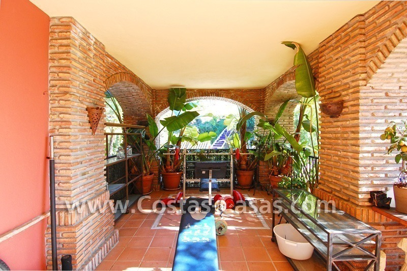 Golf apartment for sale in a gated first line golf complex, Marbella – Benahavis 3