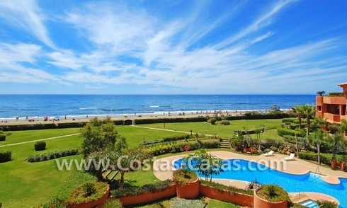 Beachfront luxury apartments and penthouses for sale in Marbella