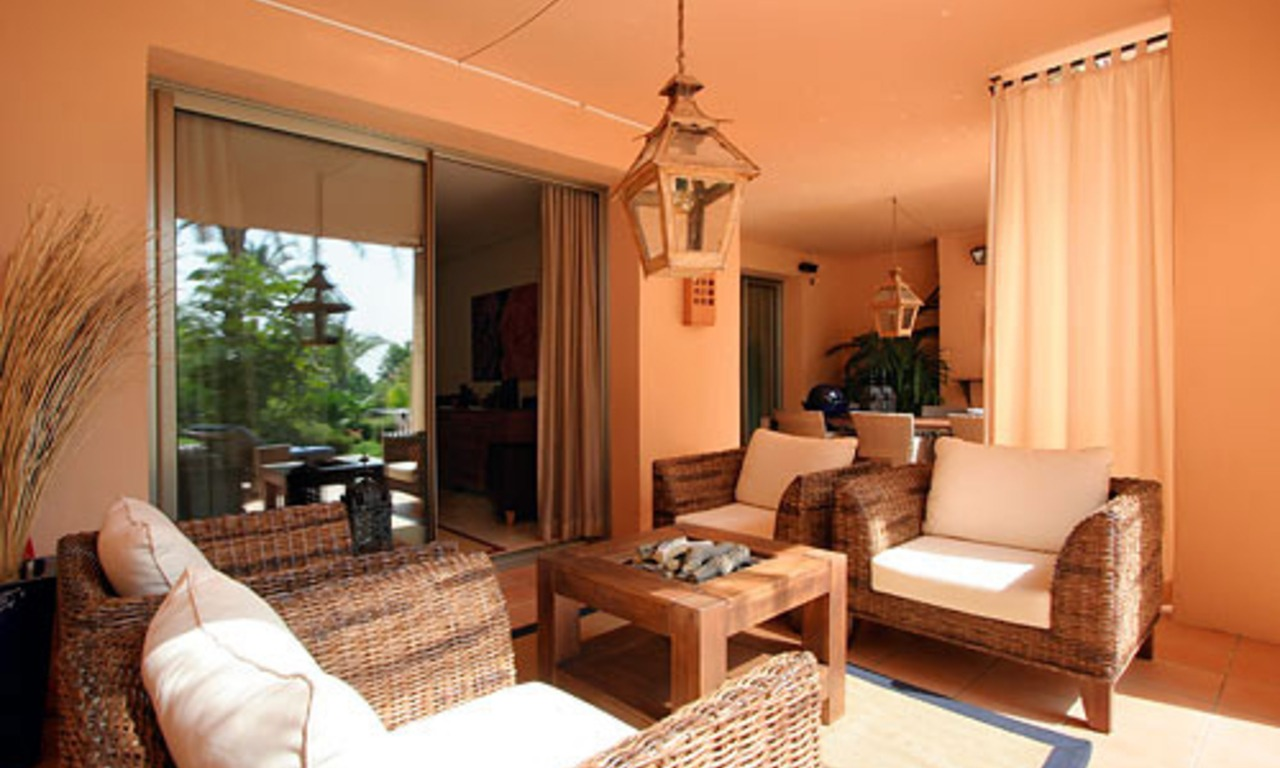 Luxury apartment for sale on the Golden Mile in Marbella 1