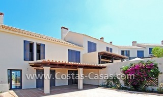 Modern houses for sale in the area of Marbella – Benahavis at the Costa del Sol 15