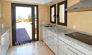 Modern houses for sale in the area of Marbella – Benahavis at the Costa del Sol 18