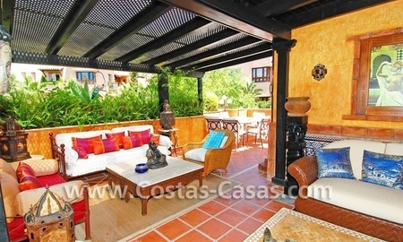 Luxury large penthouse apartment for sale on the Golden Mile in Marbella 22