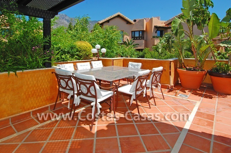 Luxury large penthouse apartment for sale on the Golden Mile in Marbella 21