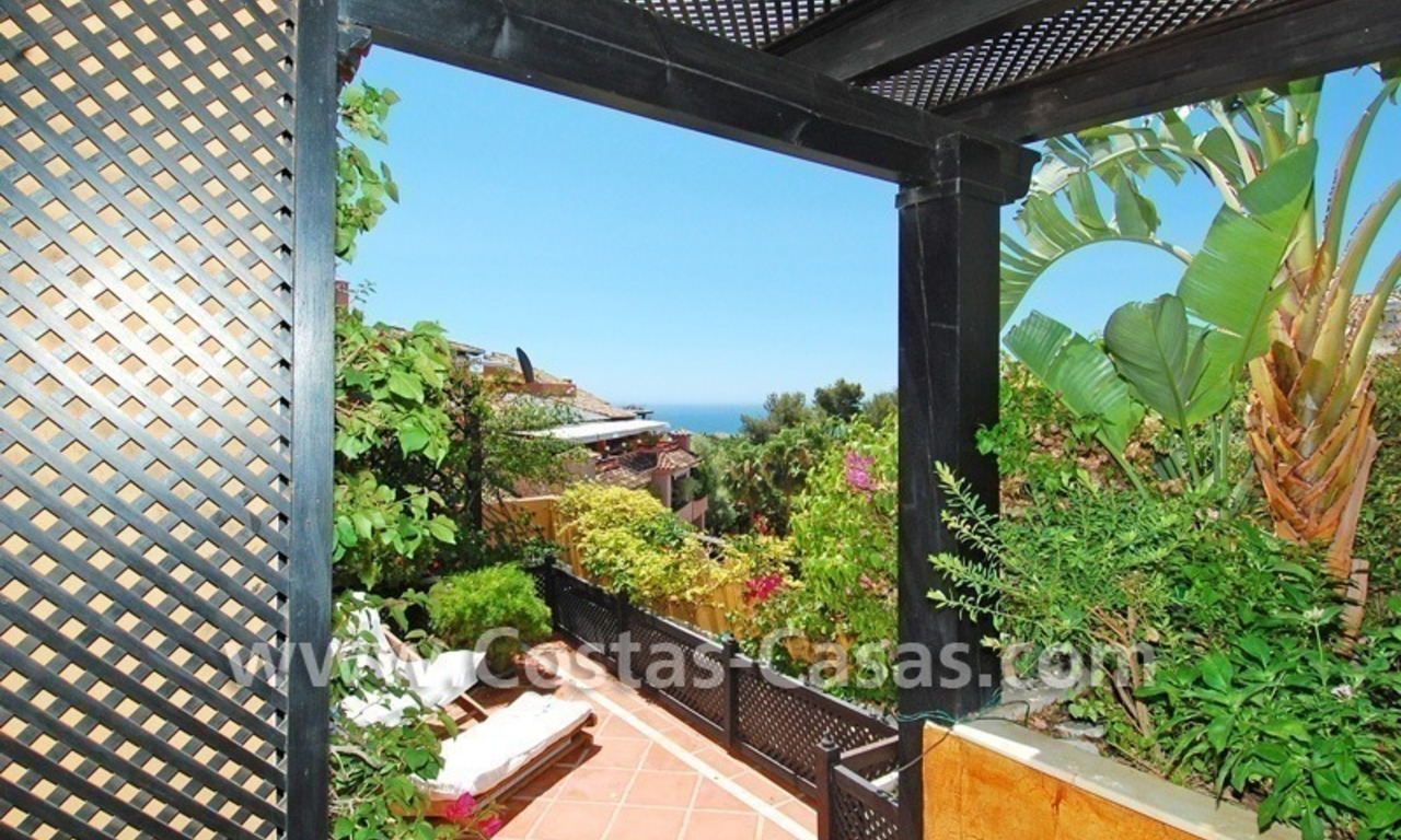 Luxury large penthouse apartment for sale on the Golden Mile in Marbella 25