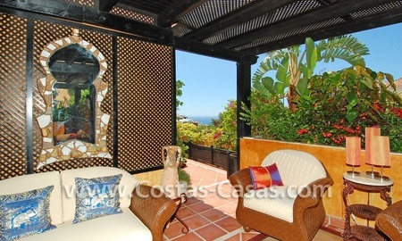 Luxury large penthouse apartment for sale on the Golden Mile in Marbella 24