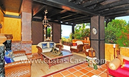 Luxury large penthouse apartment for sale on the Golden Mile in Marbella 23