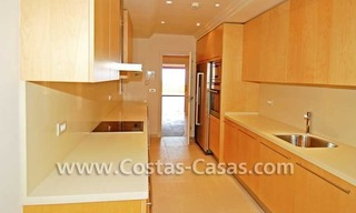 Luxury frontline beach apartment for sale, first line beach complex, New Golden Mile, Marbella -Estepona 9