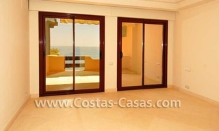 Luxury frontline beach apartment for sale, first line beach complex, New Golden Mile, Marbella -Estepona 11