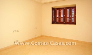 Luxury frontline beach apartment for sale, first line beach complex, New Golden Mile, Marbella -Estepona 16
