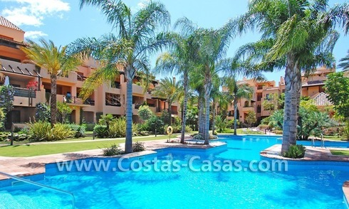 Luxury golf apartments for sale in a golf resort between Marbella and Estepona centre