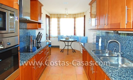 Beachside luxury penthouse apartment to buy in Marbella 13