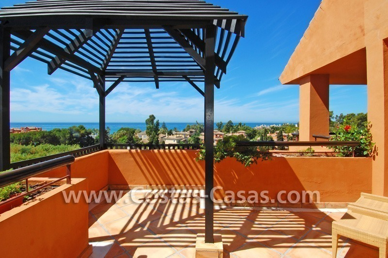 Beachside luxury penthouse apartment to buy in Marbella 0