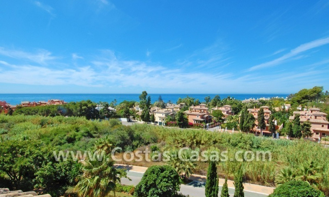 Beachside luxury penthouse apartment to buy in Marbella 1