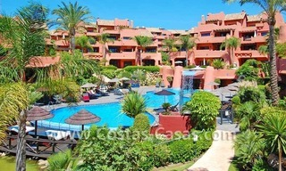 Luxury first line beach penthouse apartment for sale in a frontline beach complex on the New Golden Mile, between Puerto Banus in Marbella and Estepona centre 2