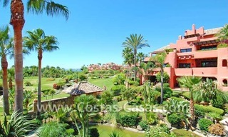 Luxury first line beach penthouse apartment for sale in a frontline beach complex on the New Golden Mile, between Puerto Banus in Marbella and Estepona centre 7