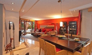 Luxury penthouse apartment for sale in a first line beach complex on the New Golden Mile, Marbella - Estepona 9