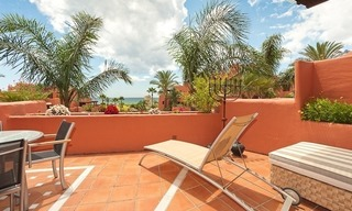 Luxury penthouse apartment for sale in a first line beach complex on the New Golden Mile, Marbella - Estepona 4