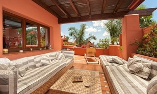 Luxury penthouse apartment for sale in a first line beach complex on the New Golden Mile, Marbella - Estepona 6