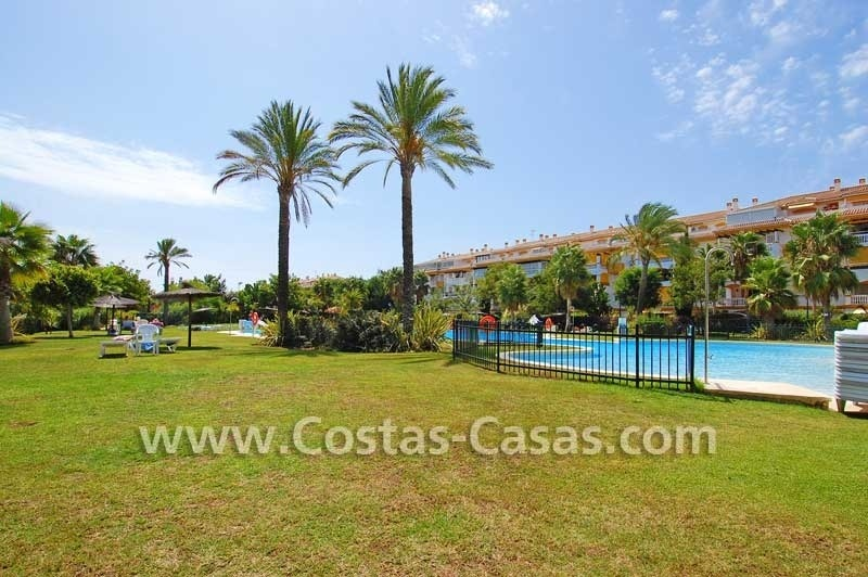Ground floor golf apartment for sale, Puerto Banus – Marbella – Nueva Andalucia 2