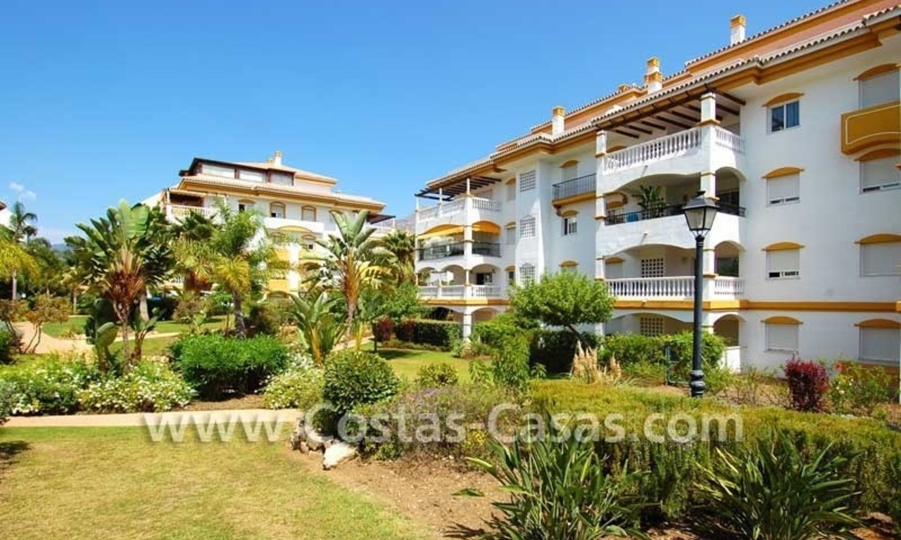 Ground floor golf apartment for sale, Puerto Banus – Marbella – Nueva Andalucia 3