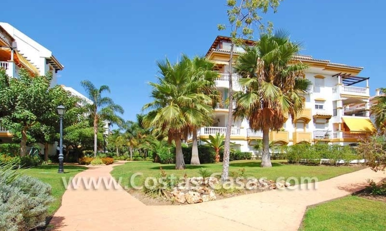 Ground floor golf apartment for sale, Puerto Banus – Marbella – Nueva Andalucia 5