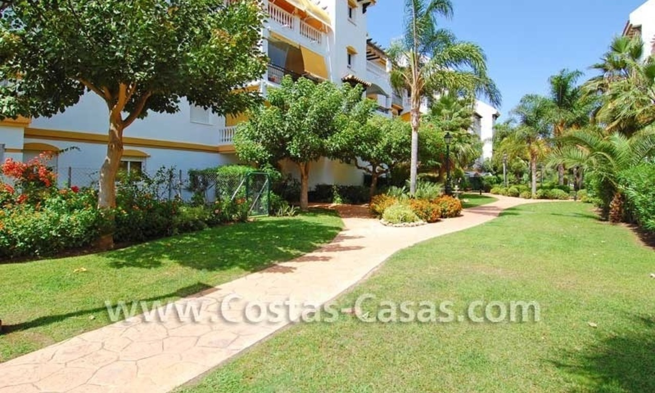 Ground floor golf apartment for sale, Puerto Banus – Marbella – Nueva Andalucia 7