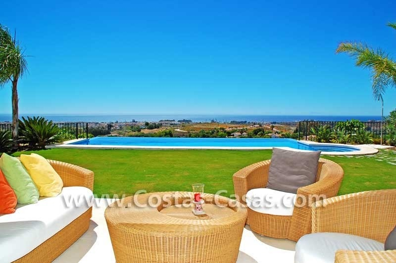 Luxury villa for sale, exclusive golf resort, New Golden Mile, Puerto Banus - Marbella, Benahavis - Estepona