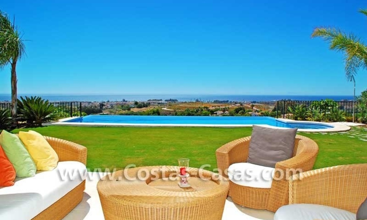 Luxury villa for sale, exclusive golf resort, New Golden Mile, Puerto Banus - Marbella, Benahavis - Estepona 0