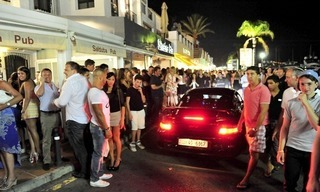 Day and nightlife in Puerto Banus Marbella 11