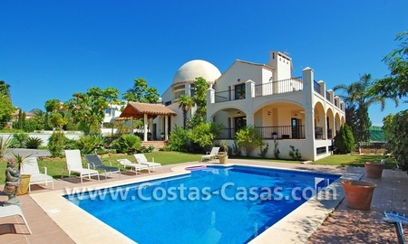 Luxury villa for sale, exclusive golf resort, New Golden Mile, Marbella - Estepona