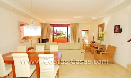 Luxury duplex penthouse for sale, frontline beach complex, New Golden Mile, Marbella - Estepona 3