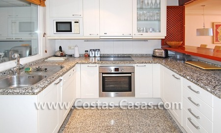 Luxury duplex penthouse for sale, frontline beach complex, New Golden Mile, Marbella - Estepona 4