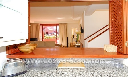 Luxury duplex penthouse for sale, frontline beach complex, New Golden Mile, Marbella - Estepona 5