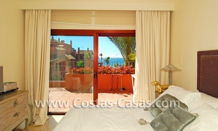 Luxury duplex penthouse for sale, frontline beach complex, New Golden Mile, Marbella - Estepona 7
