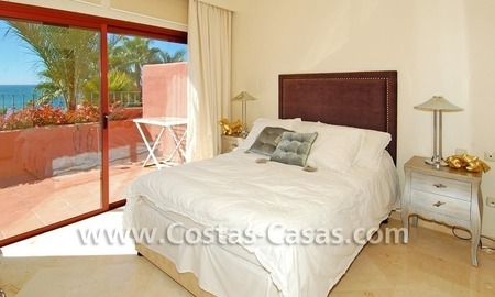 Luxury duplex penthouse for sale, frontline beach complex, New Golden Mile, Marbella - Estepona 8