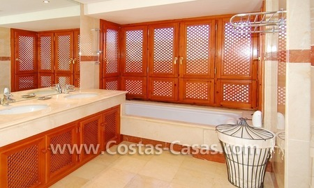 Luxury duplex penthouse for sale, frontline beach complex, New Golden Mile, Marbella - Estepona 12