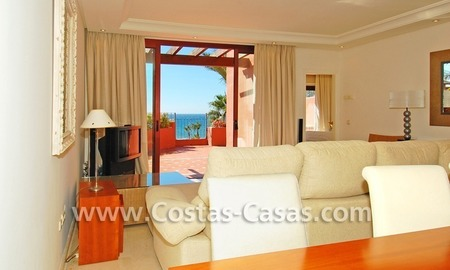 Luxury duplex penthouse for sale, frontline beach complex, New Golden Mile, Marbella - Estepona 2