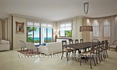 Beachfront new luxury villas for sale, first line beach Marbella - Costa del Sol 9